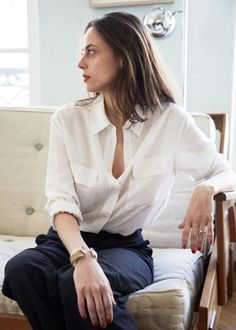 The 13 Essential Items You Need to Pack - white blouse