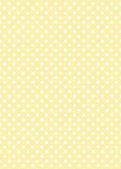 黄色とドット - yellow pattern - dot