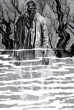 "Virgil Finlay  ""Drink We Deep"" Arthur Leo Zagat, 1951"
