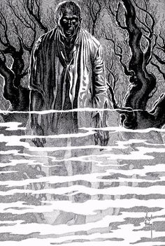 Comic Book Artist: Virgil Finlay | http://abduzeedo.com/comic-book-artist-virgil-finlay#