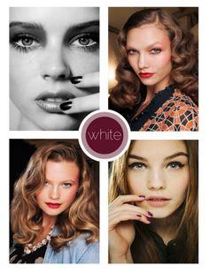 Inner water line: white = makes eyes look bigger & more open (do before mascara)