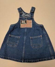 Gap Denim Casual Sleeveless Dresses (Newborn - for Girls Girls Dresses Size 6, Baby Girl Dresses, Baby Dress, Polo Jeans, Denim Jeans, Overall Shorts, Sleeveless Dresses, Sleeve Dresses, Overalls