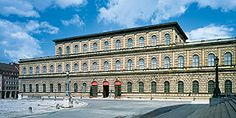 Residenz Muenchen: the royal building at the Max-Joseph-Platz