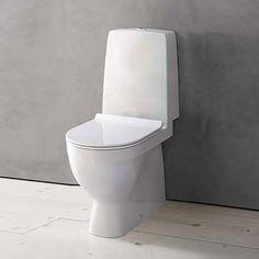 Denna väljer vi!! hurra!  Toalettstol Duravit Durastyle 010801 Komplett - Golvstående toalett - Toalettstolar Duravit, Design, Bathrooms, Amp, Bathroom, Bath Room, Bath, Design Comics