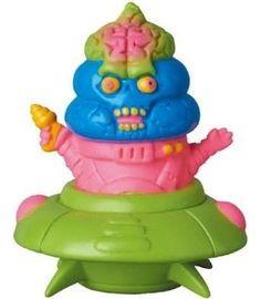 Down Knack Attacher figure by Goccodo X Mirock Toy, produced by Medicom Toy.