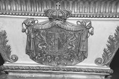 Wappen von Erzherzog Rudolph, 1858-1889. Detail am Sarkophag des Kronprinzen in der Kapuzinergruft. Wien.