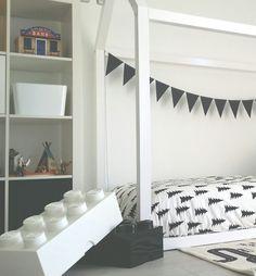 Habitación infantil en blanco y negro – Deco&Kids