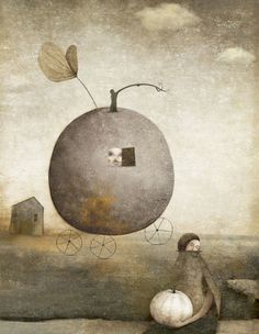 ♨ Intriguing Art Images ♨ surreal art photographs, paintings & illustrations - Gabriel Pacheco, 1973
