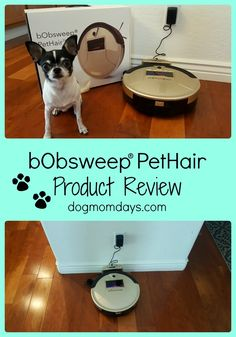 Looking for some help with cleaning and housework? The bObsweep PetHair vacuum is great for pet parents!  Dog Mom | Product Reviews | Dog Products | bObsweep | Robo Vacuum | Housework