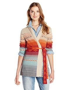 gifted from lesbians' power shopper. Pendleton Women's Sunrise Cardigan Sweater, Multi, Large Pendleton http://www.amazon.com/dp/B00V8RW8XG/ref=cm_sw_r_pi_dp_fIhuwb1VKPQTV