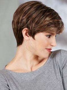 Wavy Short Hairstyles for Thin Hair-2
