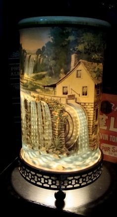 Waterfall 50s Motion lamp!! I have one in my bedroom. My G'ma had one when I was little.