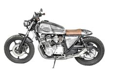 Suzuki GSX 750 E Scrambler by Landesign Garage Garage Cafe, Suzuki Gsx 750, Café Racers, Scrambler, Motorcycle, Inspiration, Wheels, Motorbikes, Biblical Inspiration