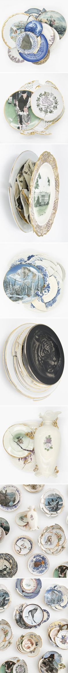 The Jealous Curator curated contemporary art  | jeremiah jenkins ceramic collages