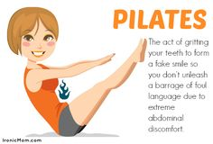 Finding Humor in Fitness Terms http://ironicmom.com/2014/01/24/finding-humor-fitness-terms/ #pilates #humor