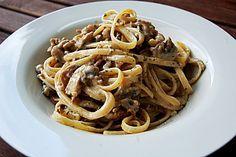 Spaghetti mit Jägersoße