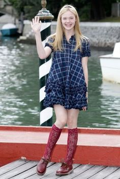 Elle Fanning style and fashion pictures | British Vogue