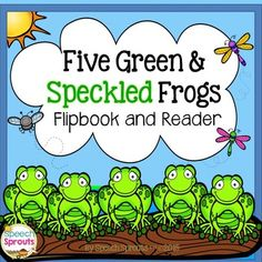 Interactive frog fun with this flip book and cut and paste reader! Hop into story re-telling, plural verbs, prepositions, rhyme and articulation with this well-loved story and nursery rhyme. Count down as the adorable frogs jump in the pool. Glub! Glub!Perfect for Spring, Summer Frog, Bugs and Insect themes in speech therapy or the classroom.