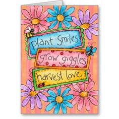 Plant Smiles - Greeting Cards