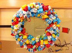 Dr. #Seuss #Ribbon #wreath