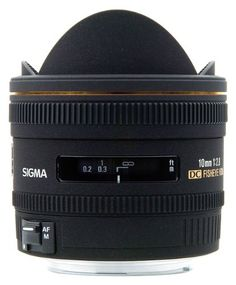 Sigma 10mm f/2.8 EX DC HSM Fisheye Lens for Nikon Digital SL