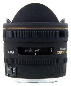 Sigma 10mm f/2.8 EX DC HSM Fisheye Lens for Canon Digital SL