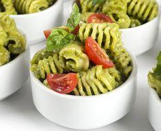 Delicious Vegan Recipes - Chloe Coscarelli Vegan Dishes... Avocado Pesto Pasta