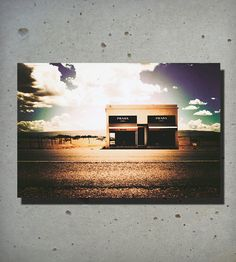 Prada Marfa Photo Print | Observation Full And Felt Photography
