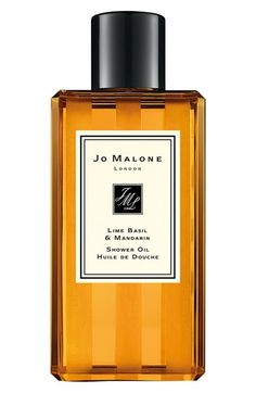 Jo Malone London Jo Malone™ 'Lime, Basil & Mandarin' Shower Oil available at #Nordstrom