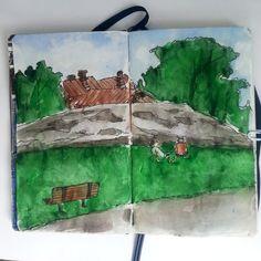 From sketchbook of Petri Fills Sketching, Drawings, Painting, Art, Art Background, Painting Art, Kunst, Sketches, Paintings