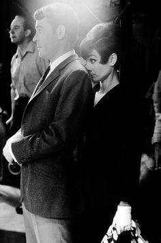 Peter O'Toole with Audrey Hepburn.