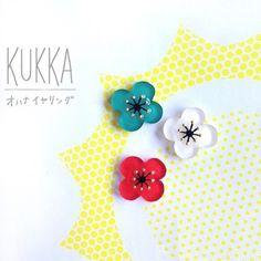 kukka/オハナイヤリング