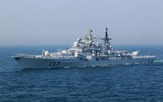 中国人民解放军海军福州号驱逐舰 / Chinese People's Liberation Army Navy destroyer Fuzhou