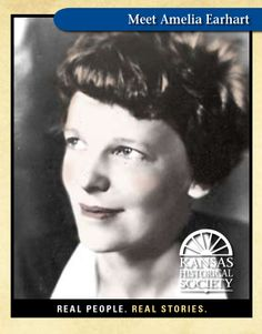 Amelia Earhart from Atchison, KS