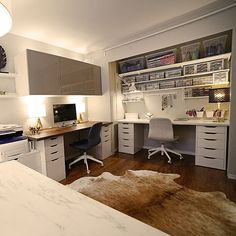 finished office makeover. In Episode 312 Of The IKEA Home Tour Series, Squad Transforms Julie\u0027s Cluttered Finished Office Makeover /