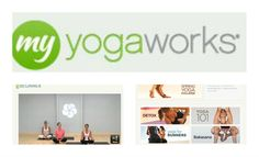 Sign up with My Yoga Works online to do yoga in the comfort of your own home and use my promo code to only pay $5 for the first month! :)