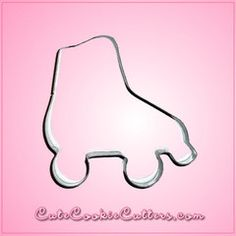 View Mini Roller Skate Cookie Cutter in detail