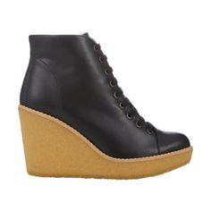 Stella McCartney Wedge-Heel Ankle Boots at Barneys.com