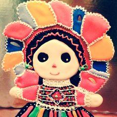 Pastel de muñeca