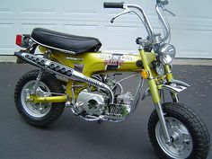 1972 HONDA CT70H TRAIL 70