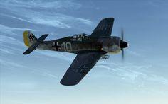 "Fw-190A3 1/JG5 flown by Wolfgang Kosse, Herdla Norway October 1942 ""White 10""."