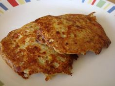 cheese potato pancakes - had them with salmon last week. yum!