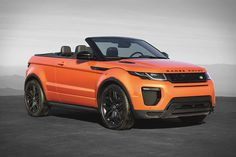 """""""Convertible"""" and """"SUV"""" are terms you don't normally hear used together, but the Range Rover Evoque Convertible isn't your normal vehicle. Combining sleek, sports car-like lines with Rover's legendary off-road prowess, it's designed to let you fully enjoy the remote..."""