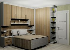 Trendy bedroom storage built in cabinets 24 Ideas Bedroom Cabinets, Home Decor Bedroom, Home, Home Bedroom, Bedroom Storage, Bedroom Cupboards, Bedroom Built Ins, Bedroom Wallpaper City, Small Room Bedroom