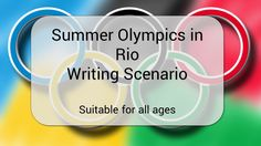Summer Olympics Scenario Writing First Person School Resources, Teacher Resources, Classroom Resources, Creative Teaching, Teaching Tools, Teaching Language Arts, Health Lessons, Summer Olympics, Literacy Activities