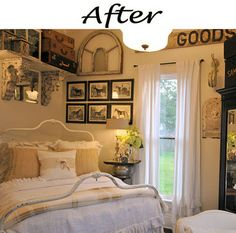 Remodelaholic » Blog Archive Farmhouse Bedroom Before and After » Remodelaholic