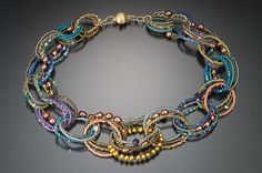 Linked Necklacehttp://lynnesausele.com/artwork/3081370_Oval_Bead_Necklace.html