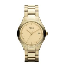 FOSSIL® Holiday Color All That Shimmers: Archival Stainless Steel Watch – Gold-Tone ES3161
