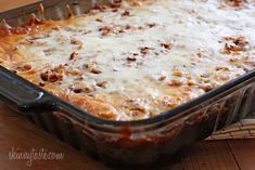 Kalyn's Stuffed Cabbage Casserole - Although stuffed cabbage doesn't usually have cheese, I loved the addition of it in this recipe.