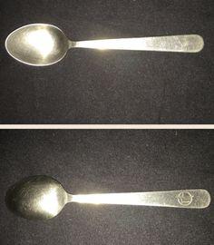 "Loftleidir (Icelandic Air) spoon.  4 1/2"" Mono Petit.  Operational 1944- 1979.  Logo circa 1950s - 1970s."